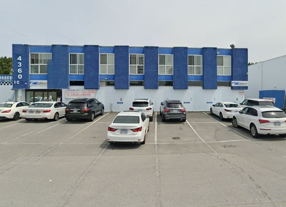 Main Photo: 4360 VANGUARD Road in Richmond: East Richmond Industrial for lease : MLS®# C8034020