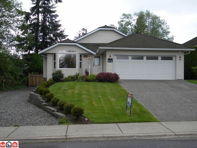 """Main Photo: 859 165A Street in Surrey: King George Corridor House for sale in """"MCNALLY CREEK"""" (South Surrey White Rock)  : MLS®# F1011097"""