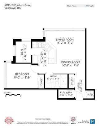 """Photo 18: 1710 1367 ALBERNI Street in Vancouver: West End VW Condo for sale in """"The Lions"""" (Vancouver West)  : MLS®# R2615507"""