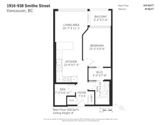 Photo 19: 1916 938 SMITHE STREET in Vancouver: Downtown VW Condo for sale (Vancouver West)  : MLS®# R2614887