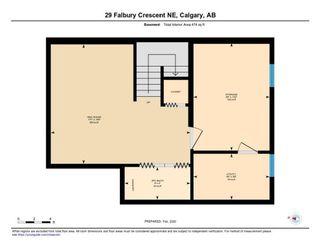 Photo 33: 29 FALBURY Crescent NE in Calgary: Falconridge Semi Detached for sale : MLS®# C4288390