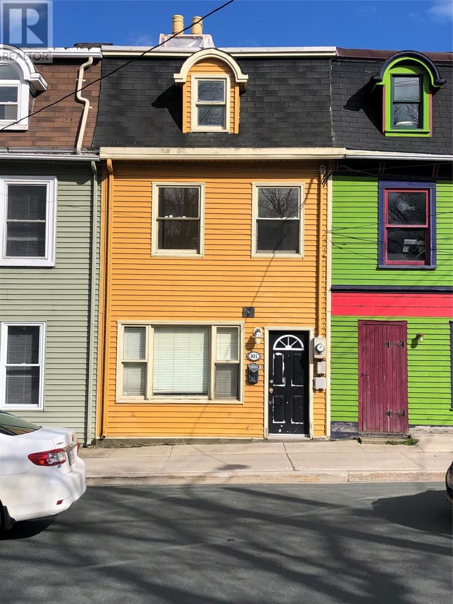 Main Photo: 105 Military Road in St. John's: House for sale : MLS®# 1230058