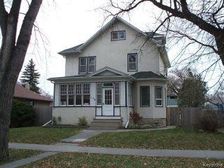 Photo 1: 156 Lawndale Avenue in WINNIPEG: St Boniface Residential for sale (South East Winnipeg)  : MLS®# 1324380