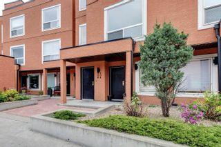 Photo 43: 204 10105 95 Street in Edmonton: Zone 13 Townhouse for sale : MLS®# E4246553