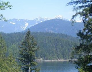 """Photo 1: LOT 4 GROVE RD in Gambier_Harbour: Gambier Island Land for sale in """"West Bay"""" (Islands-Van. & Gulf)  : MLS®# V758055"""