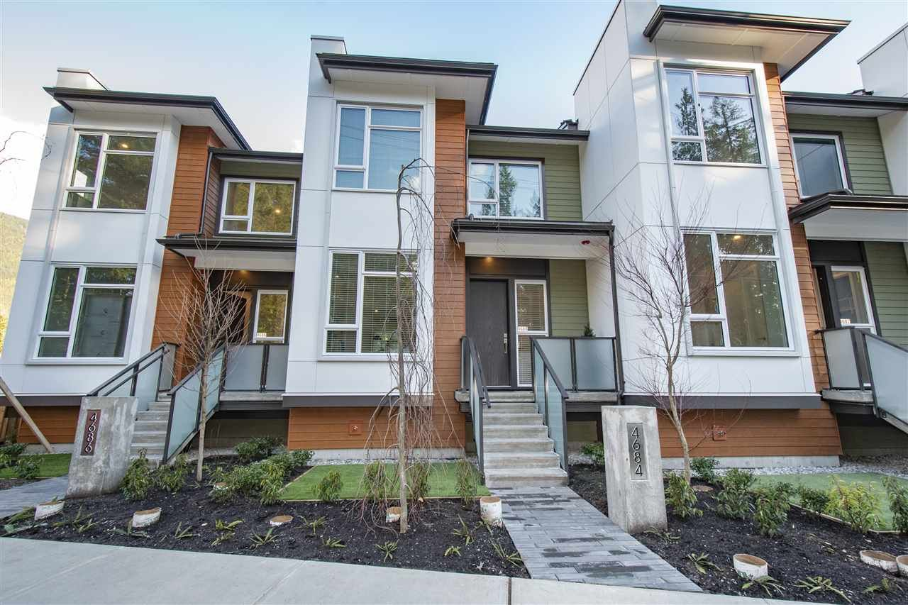 Main Photo: 4682 CAPILANO ROAD in North Vancouver: Canyon Heights NV Townhouse for sale : MLS®# R2535443