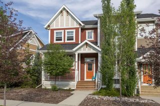 Photo 3: 60 Sunset Road: Cochrane Row/Townhouse for sale : MLS®# A1128537