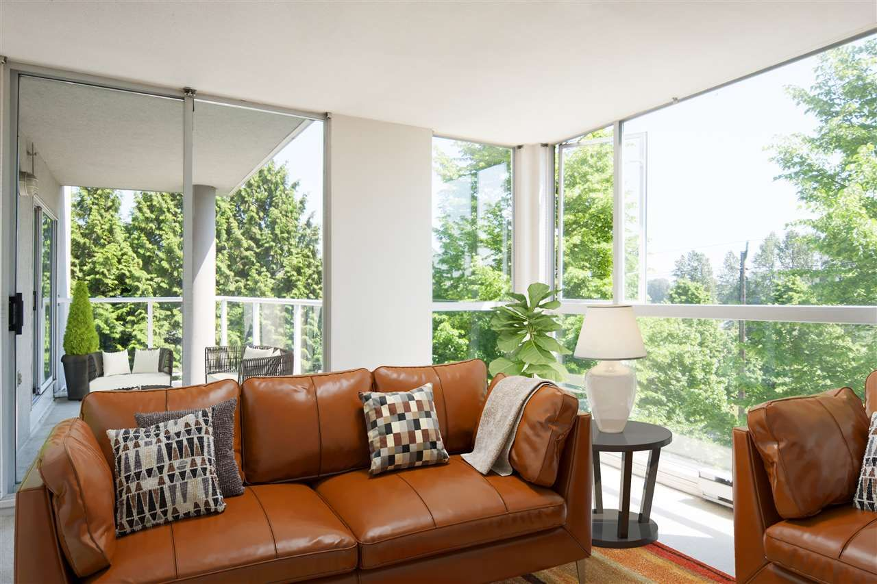 """Photo 1: Photos: 305 8450 JELLICOE Street in Vancouver: South Marine Condo for sale in """"BOARDWALK"""" (Vancouver East)  : MLS®# R2376559"""