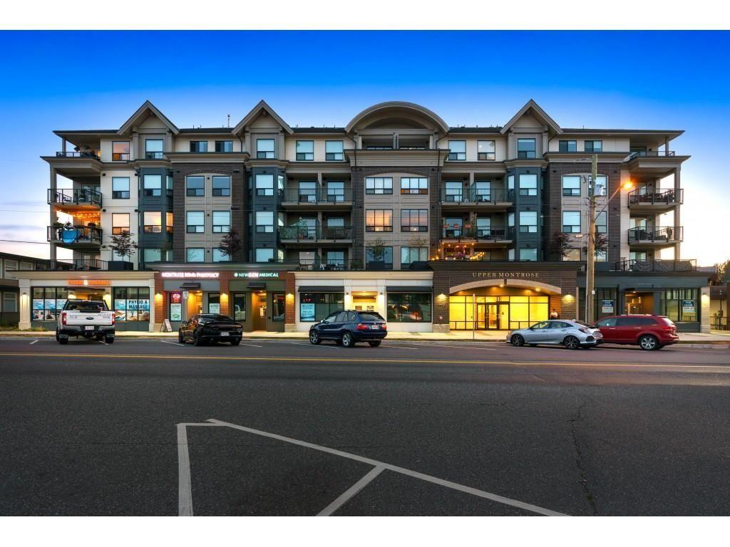 "Main Photo: 210 2493 MONTROSE Avenue in Abbotsford: Central Abbotsford Condo for sale in ""Upper Montrose"" : MLS®# R2621075"