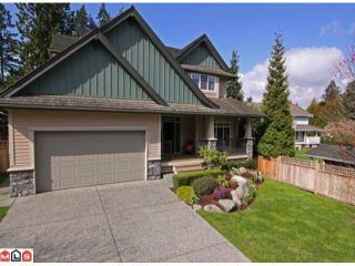 """Photo 1: 2899 147A ST in Surrey: Elgin Chantrell House for sale in """"HERITAGE TRAILS"""" (South Surrey White Rock)  : MLS®# F1109378"""