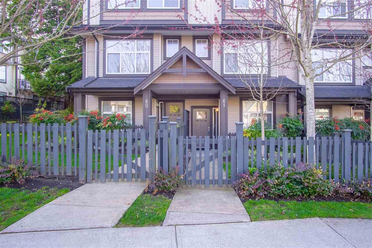 """Main Photo: 61 6123 138 Street in Surrey: Sullivan Station Townhouse for sale in """"Panorama Woods"""" : MLS®# R2567161"""