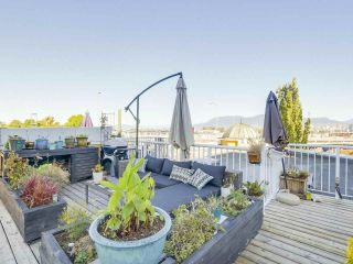 """Photo 1: 404 1562 W 5TH Avenue in Vancouver: False Creek Condo for sale in """"GRYPHON COURT"""" (Vancouver West)  : MLS®# R2211506"""
