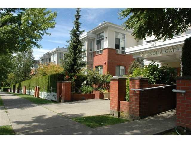 "Main Photo: 441 383 E 37TH Avenue in Vancouver: Main Condo for sale in ""MAGNOLIA GATE"" (Vancouver East)  : MLS®# V857085"