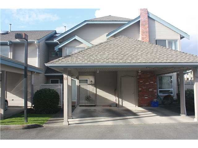 Main Photo: 13 7820 ABERCROMBIE Place in Richmond: Brighouse South Townhouse for sale : MLS®# V945433