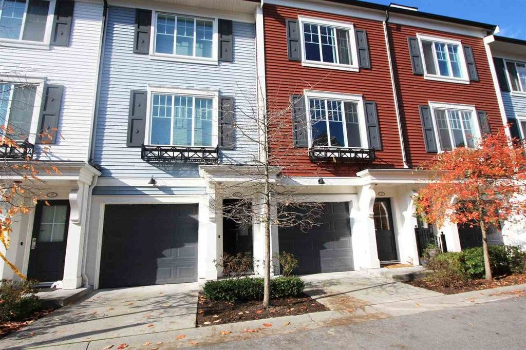 Main Photo: 3010 Riverbend Drive in Coquitlam: Townhouse for sale : MLS®# r2011542