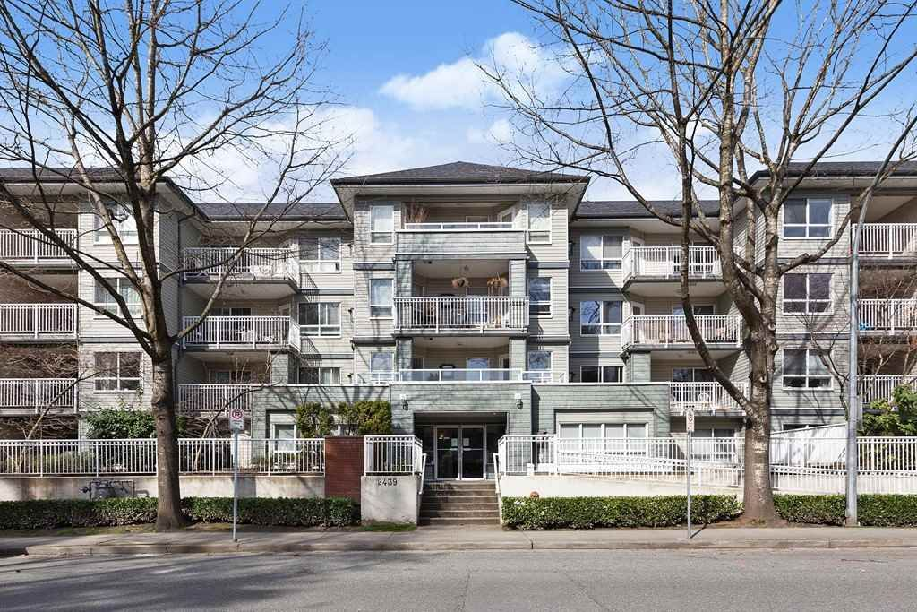 "Main Photo: 405 2439 WILSON Avenue in Port Coquitlam: Central Pt Coquitlam Condo for sale in ""Avebury Point"" : MLS®# R2559864"