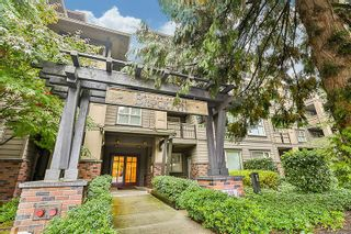"Photo 1: 216 808 SANGSTER Place in New Westminster: The Heights NW Condo for sale in ""The Brockton"" : MLS®# R2411605"