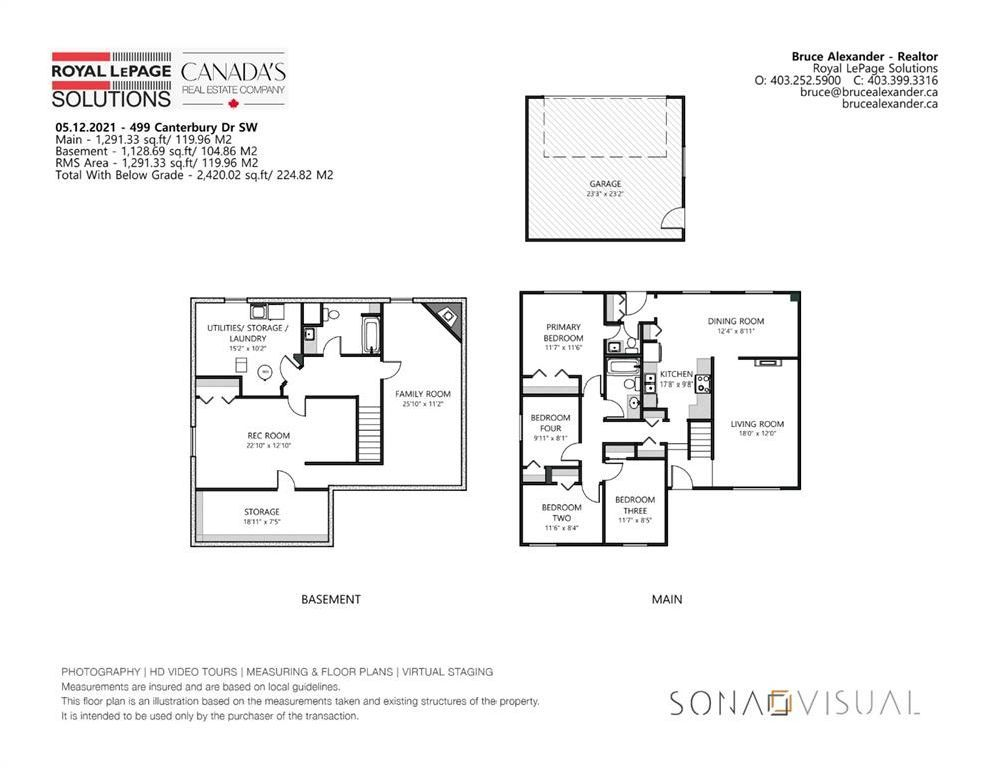 Photo 33: Photos: 499 Canterbury Drive SW in Calgary: Canyon Meadows Detached for sale : MLS®# A1107365