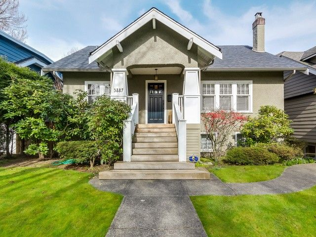 "Main Photo: 3887 W 15TH Avenue in Vancouver: Point Grey House for sale in ""Point Grey"" (Vancouver West)  : MLS®# V1110681"