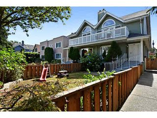 Photo 1: 298 W 16TH Avenue in Vancouver: Cambie Townhouse for sale (Vancouver West)  : MLS®# V1142304