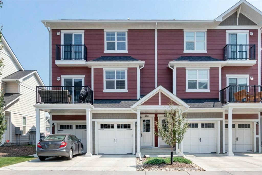 Main Photo: 902 881 Sage Valley Boulevard NW in Calgary: Sage Hill Row/Townhouse for sale : MLS®# A1132443
