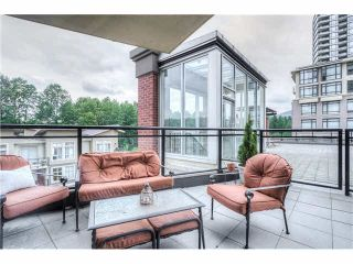 """Photo 1: 306 400 CAPILANO Road in Port Moody: Port Moody Centre Condo for sale in """"ARIA II AT SUTTERBROOK"""" : MLS®# V1126880"""