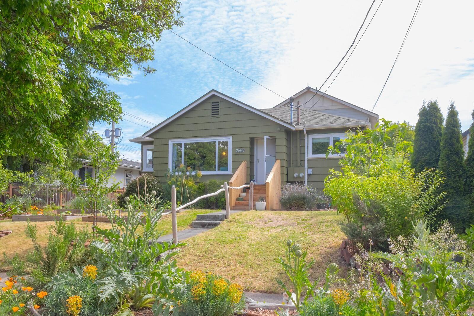Main Photo: 2659 Prior St in : Vi Hillside Half Duplex for sale (Victoria)  : MLS®# 877960