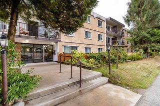 "Photo 1: 306 630 CLARKE Road in Coquitlam: Coquitlam West Condo for sale in ""KING CHARLES COURT"" : MLS®# R2534182"