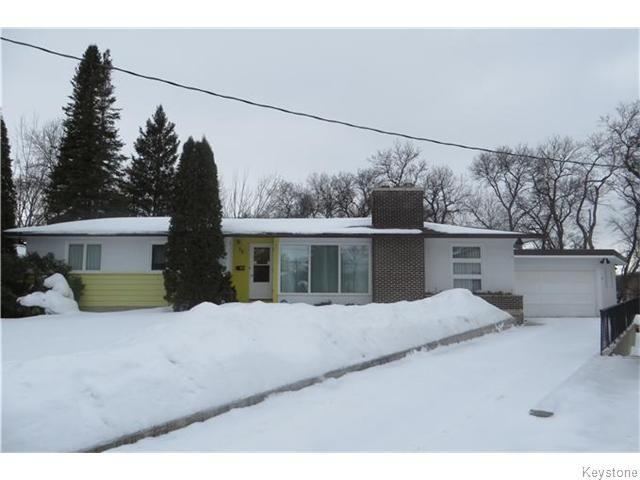 Main Photo: 35 Tod Drive in Winnipeg: St Vital Residential for sale (South East Winnipeg)  : MLS®# 1604289