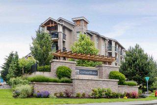 """Photo 1: 121 21009 56 Avenue in Langley: Salmon River Condo for sale in """"Cornerstone"""" : MLS®# R2462328"""
