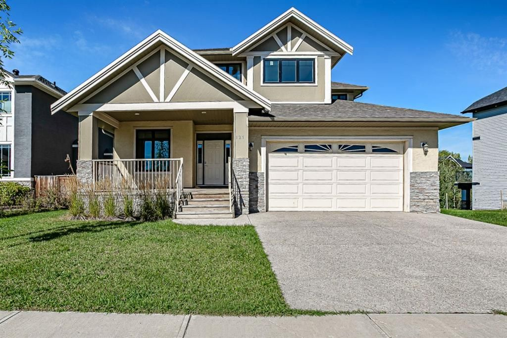 Main Photo: 121 Kinniburgh Boulevard: Chestermere Detached for sale : MLS®# A1147632