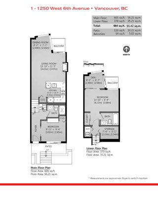 """Photo 18: 1 1250 W 6TH Avenue in Vancouver: Fairview VW Townhouse for sale in """"Silver"""" (Vancouver West)  : MLS®# R2624702"""