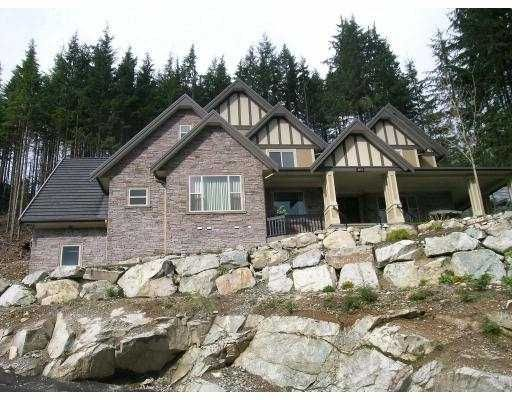 Main Photo: 1076 UPLANDS Drive: Anmore House for sale (Port Moody)  : MLS®# V700806