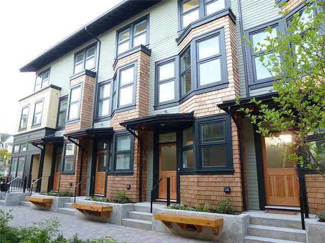 Main Photo: 1771 E 20TH AVENUE in : Victoria VE Townhouse for sale : MLS®# V1005116