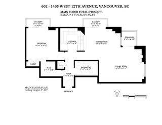 "Photo 36: 602 1405 W 12TH Avenue in Vancouver: Fairview VW Condo for sale in ""The Warrenton"" (Vancouver West)  : MLS®# R2548052"