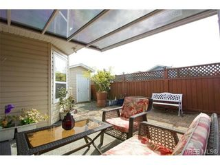 Photo 19: 41 7570 Tetayut Rd in SAANICHTON: CS Hawthorne Manufactured Home for sale (Central Saanich)  : MLS®# 707595