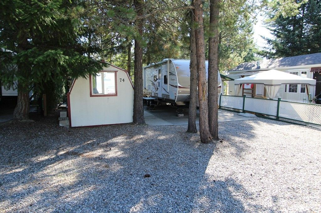 Main Photo: 74 3980 Squilax Anglemont Road in Scotch Creek: Recreational for sale : MLS®# 10071612