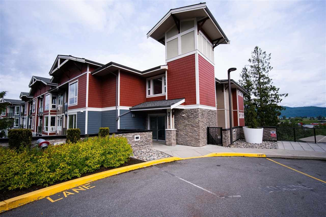 """Main Photo: 301 2238 WHATCOM Road in Abbotsford: Abbotsford East Condo for sale in """"WATERLEAF"""" : MLS®# R2492483"""