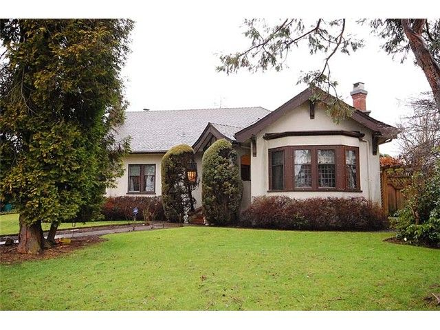 Main Photo: 221 Third Avenue in New Westminster: Queen's Park House  : MLS®# V987680