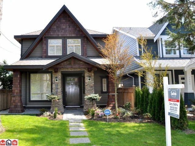"Main Photo: 1760 140TH ST in Surrey: Sunnyside Park Surrey House for sale in ""OCEAN PARK"" (South Surrey White Rock)  : MLS®# F1102309"