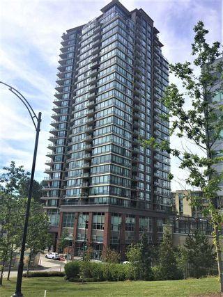 "Photo 1: 1703 400 CAPILANO Road in Port Moody: Port Moody Centre Condo for sale in ""ARIA 2"" : MLS®# R2586744"