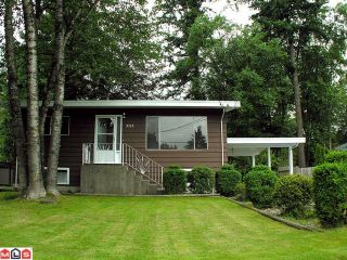 Photo 1: 3113 OLD CLAYBURN Road in Abbotsford: Abbotsford East House for sale : MLS®# F1217399