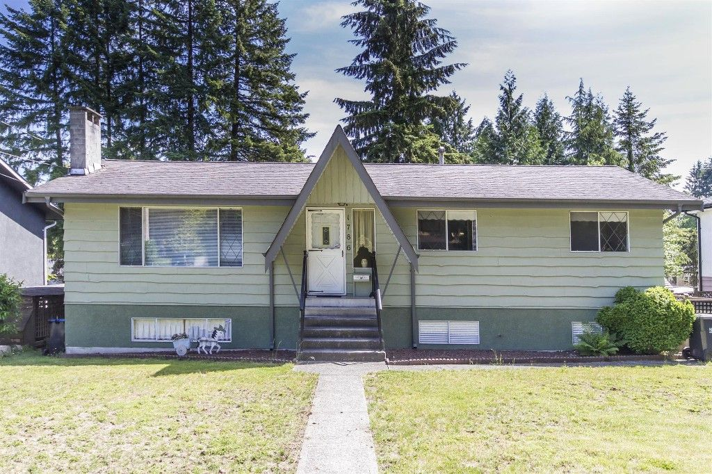 """Main Photo: 1786 HEATHER Avenue in Port Coquitlam: Oxford Heights House for sale in """"HEATHER HEIGHTS"""" : MLS®# R2174317"""