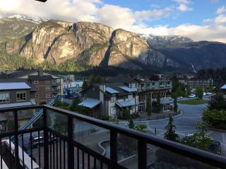 "Photo 1: 416 1211 VILLAGE GREEN Way in Squamish: Downtown SQ Condo for sale in ""Rockcliff"" : MLS®# R2359157"