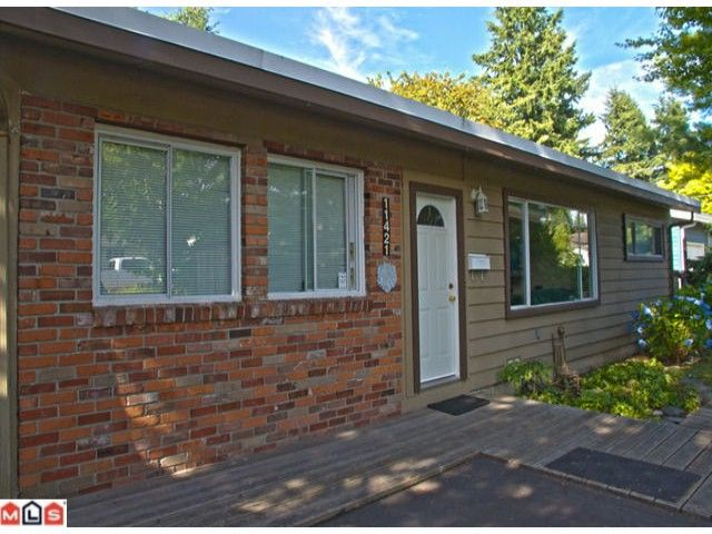 Main Photo: 11421 94A Avenue in Delta: Annieville House for sale (N. Delta)  : MLS®# F1218807
