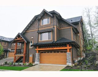 "Photo 1: 67 24185 106B Avenue in Maple Ridge: Albion Townhouse for sale in ""TRAILS EDGE"" : MLS®# V778993"