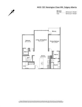 Photo 16: 410 1321 Kensington Close NW in Calgary: Hillhurst Apartment for sale : MLS®# A1113699