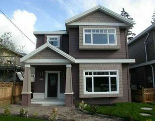 Main Photo: 1518 WESTOVER RD in North Vancouver: Lynn Valley House for sale : MLS®# V530502