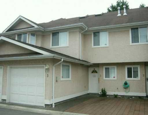 Photo 1: Photos: 3 10795 NO 2 Road in Richmond: Steveston North Townhouse for sale : MLS®# V633044