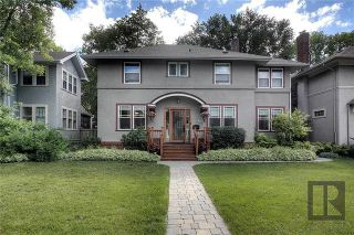 Photo 1: 246 Montrose Street in Winnipeg: River Heights North Residential for sale (1C)  : MLS®# 1819761